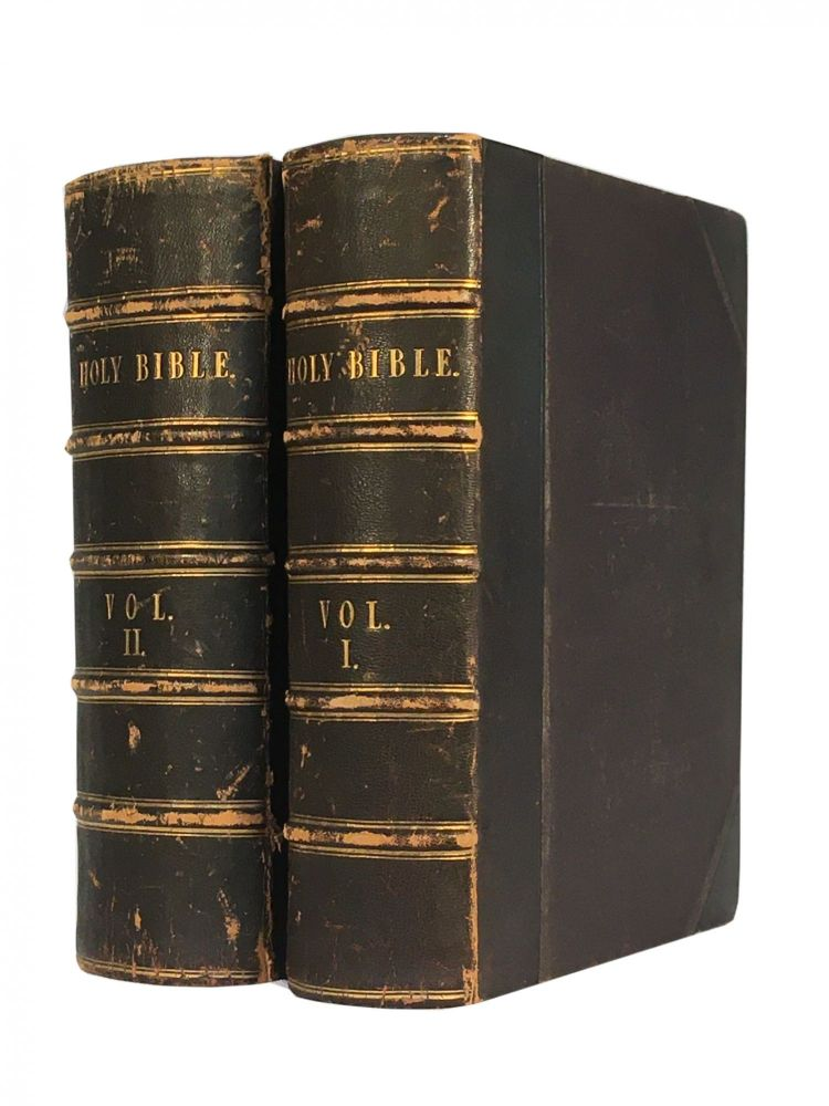 The Devotional Family Bible; with Practical and Experimental Reflections on Each Verse of the Old and New Testament, and Rich Marginal References. D. D. FLETCHER, Rev. Alexander.