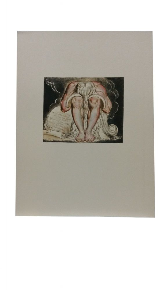 Individual Facsimile Prints from the Trianon Press; Jerusalem, Cunliffe Copy B, unnumbered plate. William Blake.