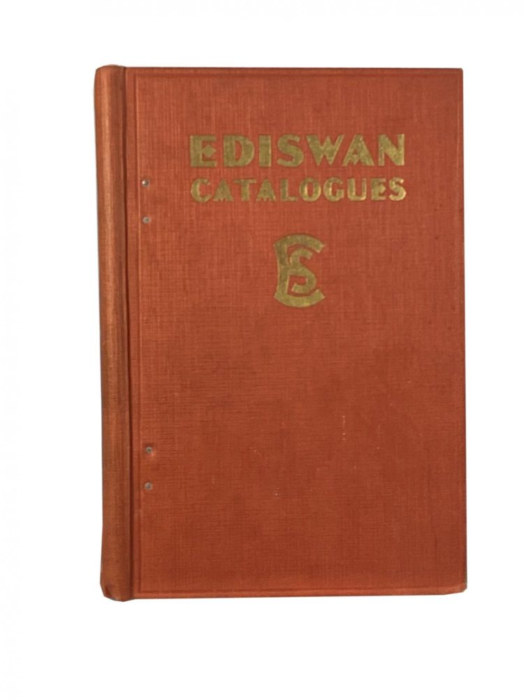 Ediswan Catalogues; The Ediswan General Catalogue. The Edison Swan Electric Co. Limited.