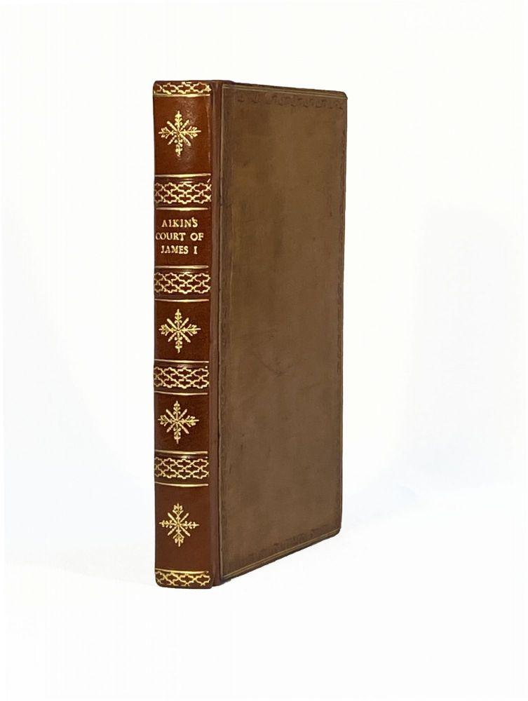Memoirs of the Court of King James the First; [Volume 2 Only]. Lucy AIKIN.