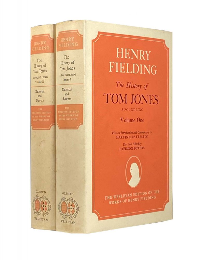 The History of Tom Jones ; A Foundling, Volume One and Two; The Wesleyan Edition Of The Works Of Henry Fielding. Henry FIELDING.