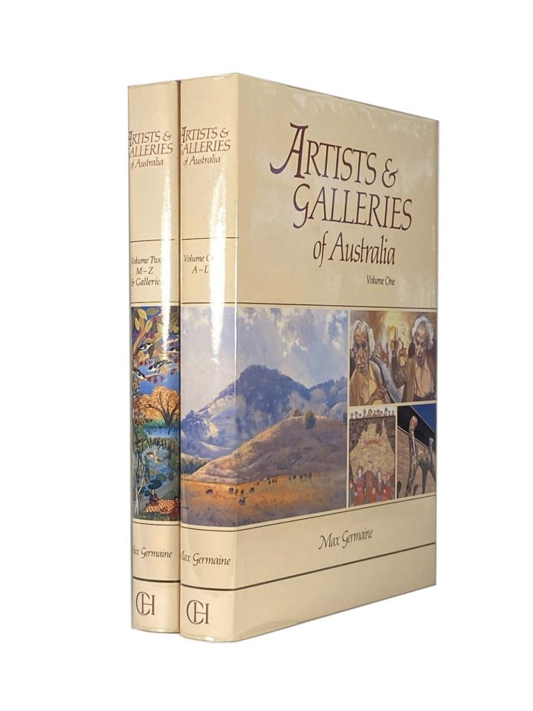 Artists and Galleries of Australia Volume 1 and 2. Max GERMAINE.