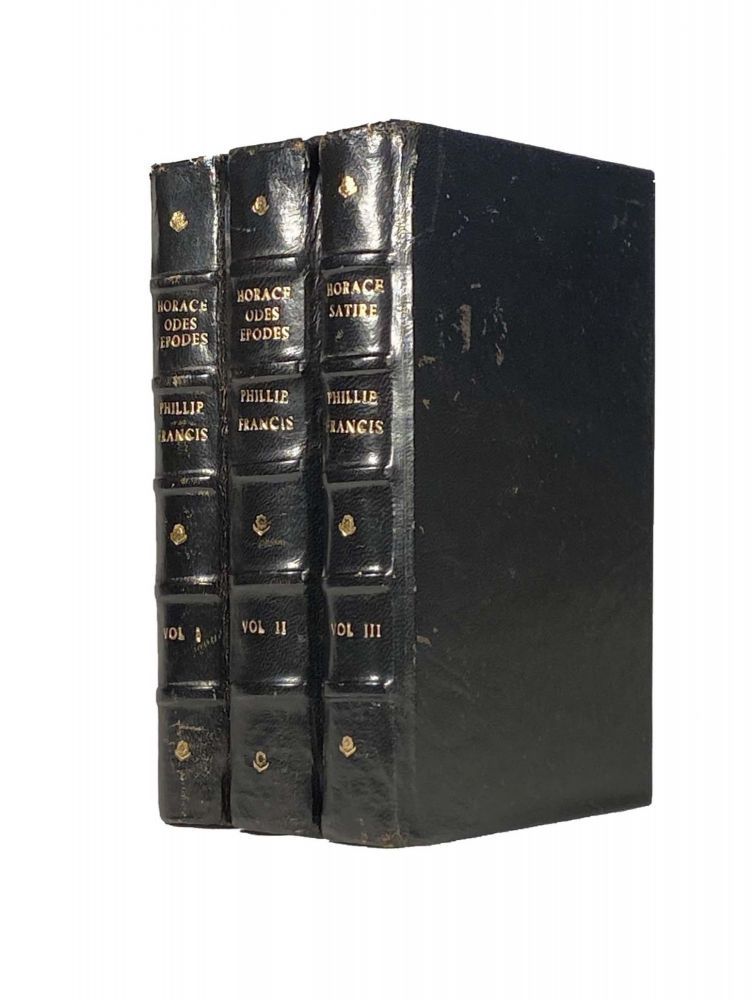 The Odes, Epodes and Carmen Seculare of Horace AND The Satires of Horace; In Latin and English. With critical notes collected from the best Latin and French commentators. HORACE, The Revd. Mr Philip FRANCIS.