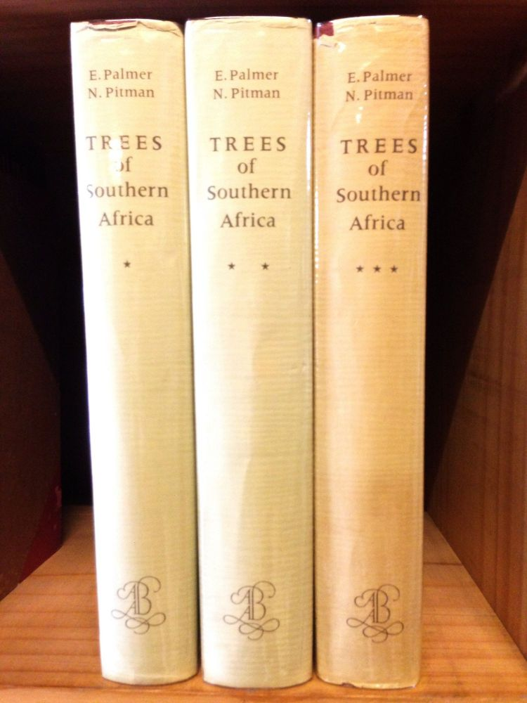 Trees of Southern Africa. Complete in 3 Volumes. Eve Palmer, Norah Pitman.