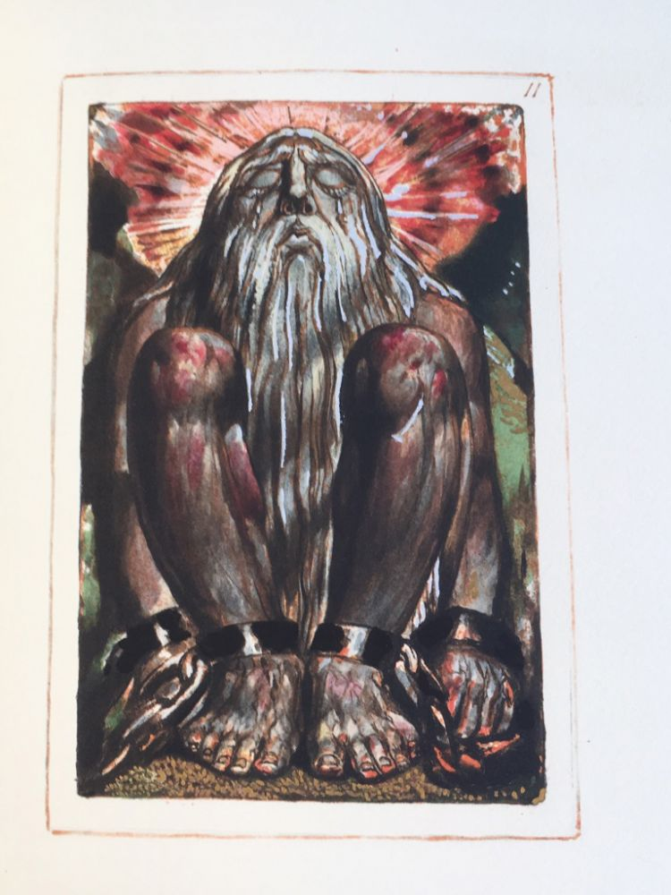 The [First] Book of Urizen. William Blake.