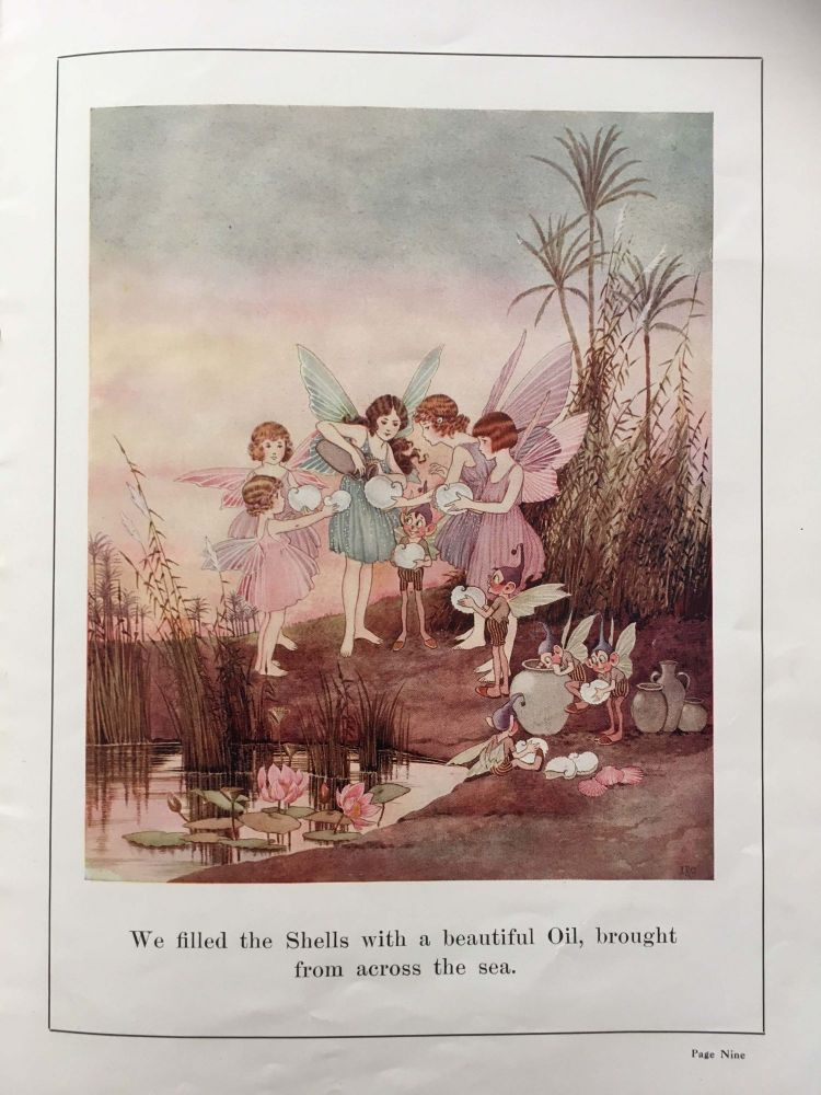 The Sentry and the Shell Fairy. Ida Rentoul Outhwaite.