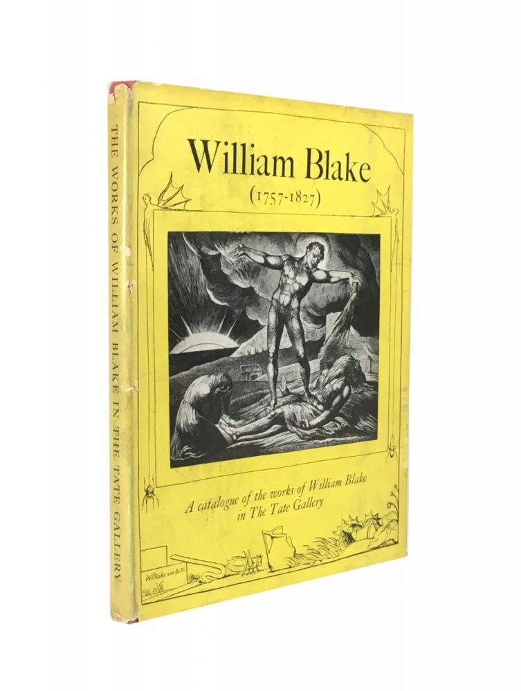 A Catalogue of the Works of Blake in the Tate Gallery. Martin Butlin.