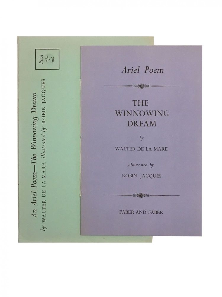 An Ariel Poem - The Winnowing Dream; illustrated by Robin Jacques. Walter de la Mare.