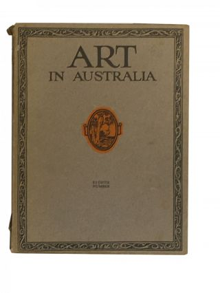 Art in Australia; Eighth Number. Sydney URE SMITH, Bertram STEVENS, C. LLOYD JONES