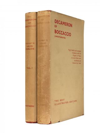 The Decameron; (unexpurgated). Giovanni BOCCACCIO, J. M. RIGG, trans