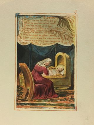 Individual Facsimile Prints from the Trianon Press; Songs of Innocence and of Experience, plate 17
