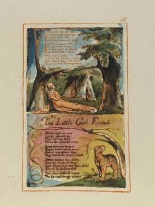Individual Facsimile Prints from the Trianon Press; Songs of Innocence and of Experience, plate 35