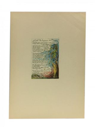 Individual Facsimile Prints from the Trianon Press; The Marriage of Heaven and Hell, plate 2....