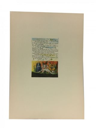 Individual Facsimile Prints from the Trianon Press; The Marriage of Heaven and Hell, plate 10....