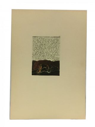 Individual Facsimile Prints from the Trianon Press; The Marriage of Heaven and Hell, plate 20....