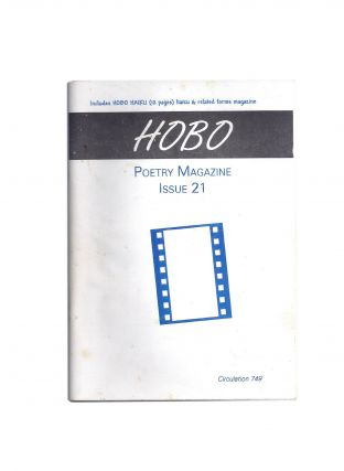 Hobo Poetry Magazine Issue 21. HOBO, Dane THWAITES