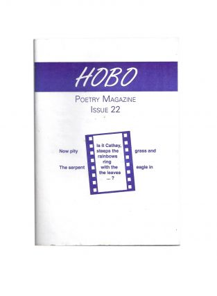 Hobo Poetry Magazine Issue 22. HOBO, Dane THWAITES