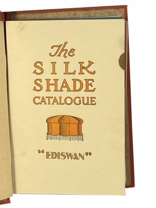 Ediswan Catalogues; The Ediswan General Catalogue