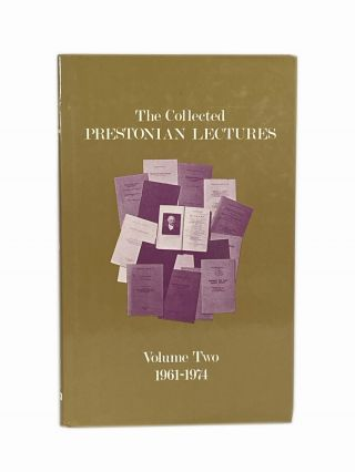 The Collected Prestonian Lectures