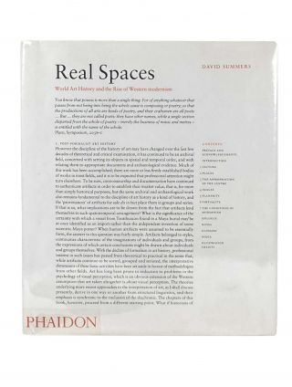 Real Spaces; World Art History and the Rise of Western Modernism