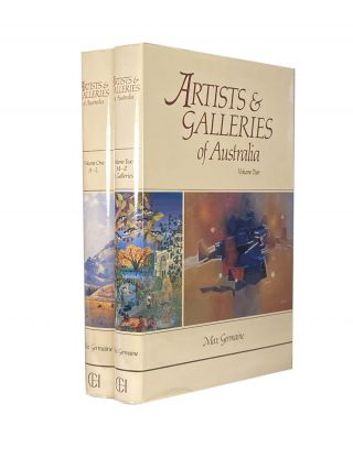 Artists and Galleries of Australia Volume 1 and 2
