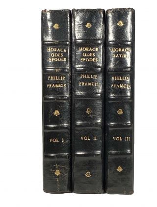 The Odes, Epodes and Carmen Seculare of Horace AND The Satires of Horace; In Latin and English. With critical notes collected from the best Latin and French commentators.