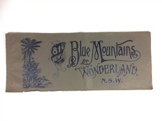 Blue Mountains Wonderland, N.S.W. 81 Views. H. PHILLIPS