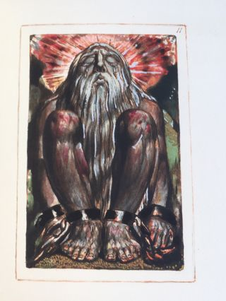 The [First] Book of Urizen. William Blake