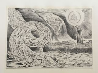 Blake's Illustrations of Dante. William Blake