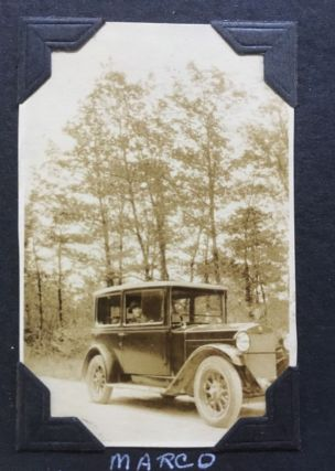 """""""The Car and The Driver/1928 Marco Polo and Will C."""""""