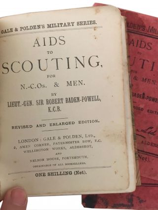 Aids to Scouting for N.C.O.s & Men.