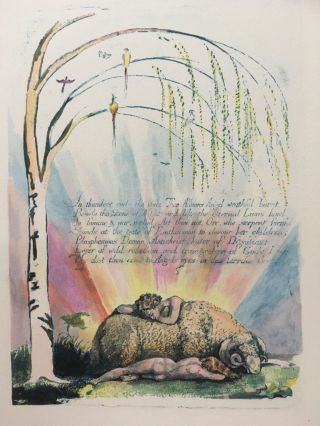 Individual Facsimile Prints from the Trianon Press. William Blake