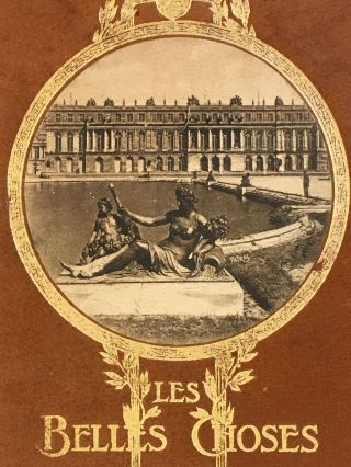 Les Belles Choses de France / The Beautiful Things of France; Versailles, Malmaison, St Germain-en-Laye