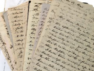 Frederick Waymouth Gibbs (1821-1898) Collection of Papers ; A small archive