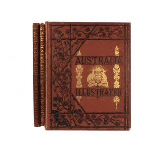 Australia; Illsutrated from the Drawings by Skinner Prout, N. Chevalier, O. Brierly, ETC. ETC....