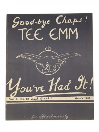 Tee Emm [Air Ministry Training Magazine]; Vol. 5 No. 1-12; for official use only