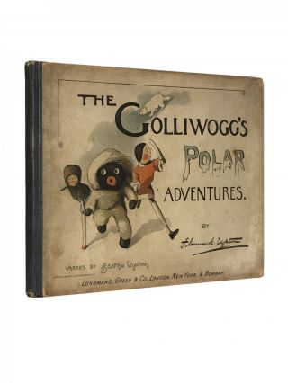 The Golliwogg's Polar Adventure. Florence K. UPTON, Bertha, verses