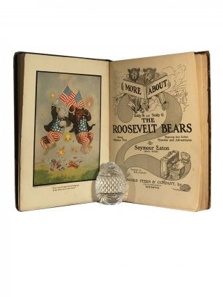 More about Teddy B and Teddy G The Roosevelt Bears